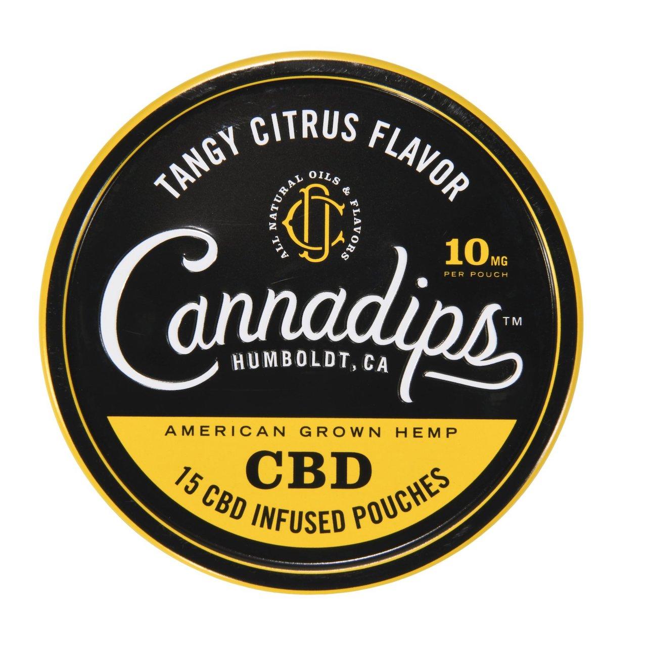 CBD cannadips - Citrus