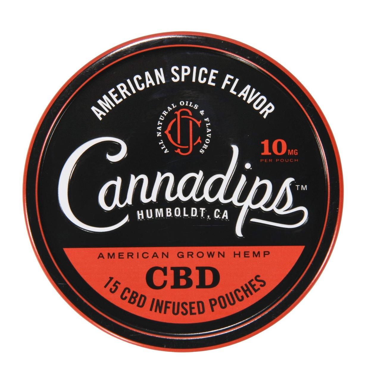 CBD cannadips - American Spice