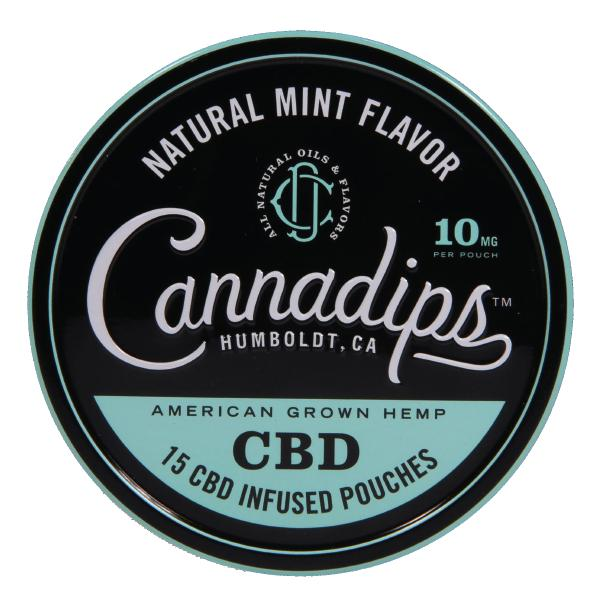 CBD cannadips - Natural Mint